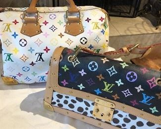 Rare Dalmatian Pattern Louis Vuitton handbag
