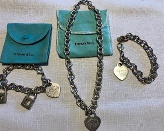 Tiffany Sterling jewelry