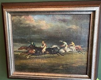 Lot 30: $125- Small painting