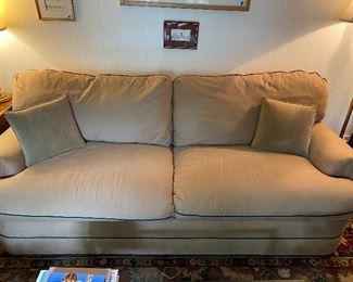 """Lot 26: $150- Sleeper sofa 7'W x 39""""D"""