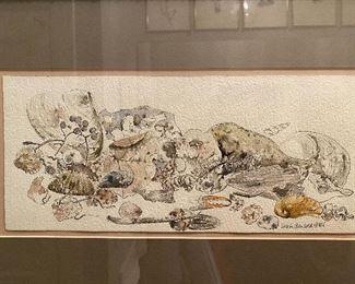 Lot 34: $65- watercolor-Brigitte A. Porter