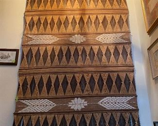 Lot 36: $75- Mexican weaving