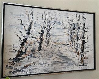Lot 39: $125- Painting-Brigitte A. Porter