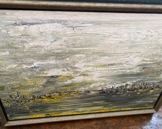 Lot 47: $125- Painting by B.A.Porter