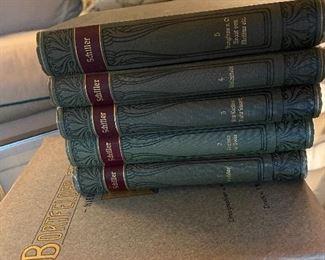 Lot 84: $95-5 volumes Schillers Werke