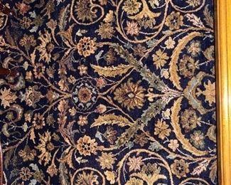 Detail of living room rug