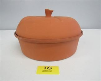 North Star Clay Terracotta Covered Dish