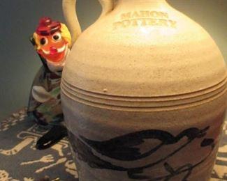 Mahon Pottery Jug Lamp