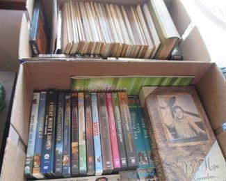 Albums/DVD's/CD's