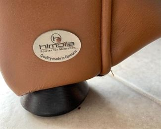 Himolla German Leather couch $1000