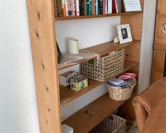 Pine Book Shelf $150