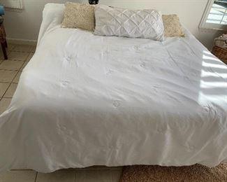 Cal King Tempur Pedic bed- $600