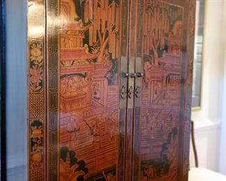 Close up of Chinese Wedding Chest