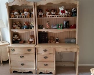 Book Case and matching desk/vanity