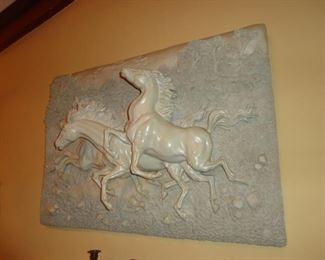 Beautiful 3-D Horse Wall Art