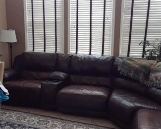 More of the sectional sofa