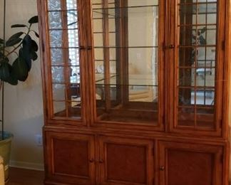 Another view of the china cabinet