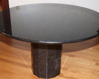 Round Granite Table