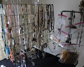 All jewelry removed from the house until the sale.