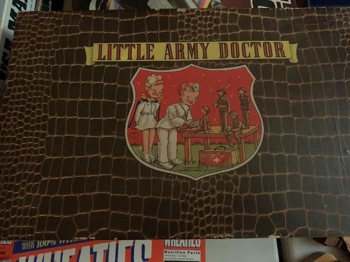Original Little Army doctor kit with box