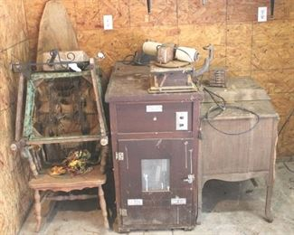 49 - Lot of Assorted Antique Items