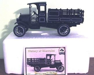 89 - 1923 Chevy Series D 1 Ton Truck Diecast Model