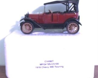 97 - 1918 Chevy 490 Touring Die-Cast Model