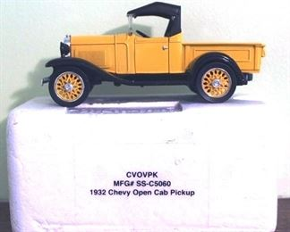 99 - 1932 Chevy Open Cab Pickup Diecast Model