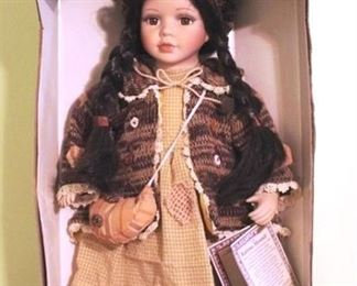 112 - Porcelain Doll in Box