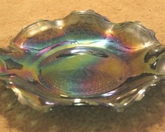 245 - Carnival Glass Plate