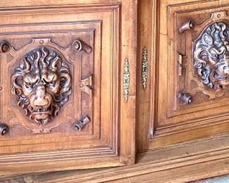 Doors of the Court Cupboard