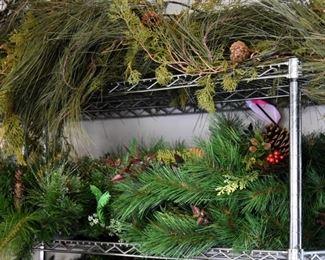 Loads of designer Christmas Decorations professional grade