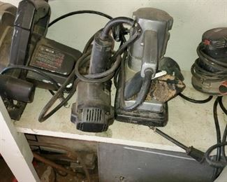 Sander, saw and other power tools