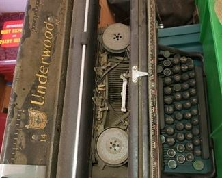 Underwood typewriter