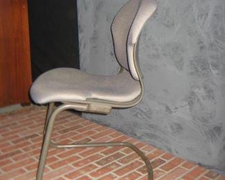 Herman Miller Side Chair w/ Neon Dot Fabric