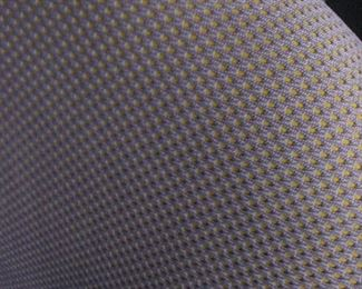 Herman Miller Side Chair with Neon Dot Fabric