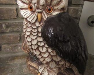 Large funky owl