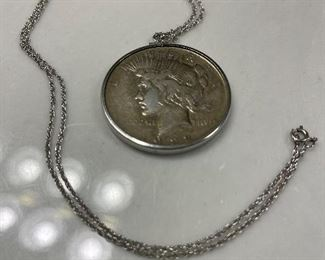 Beautiful 1922 MORGAN, that is also wearable