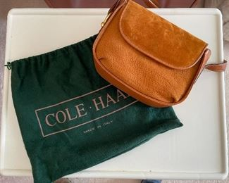 Brand new Cole Haan leather purse