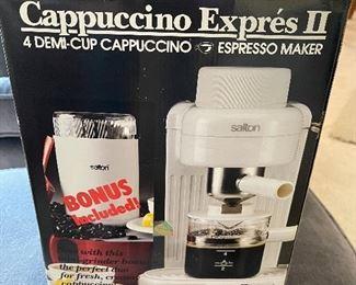 Brand new Cappucino Espresso maker