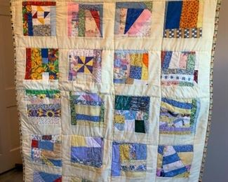 #63Baby Quilt w/Flannel Backing $60.00