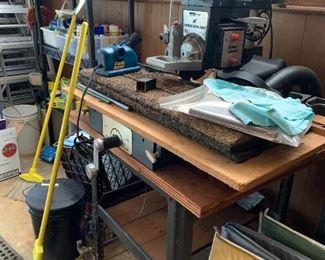"""#83Montgomery Ward 10"""" Radial Arm Saw w/Stand  $250.00"""