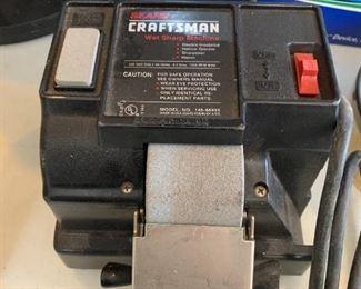 #84Craftsman Wet Sharpener  $20.00