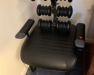 #111 Manual Massage Chair w/Rollers on Back  $75.00