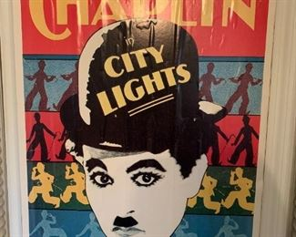 #118Charlie Chaplin In City Lights   reprint of M056 Litho  $25.00