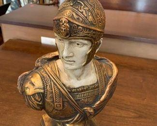 #153Ceramic Statue of Trojan $25.00