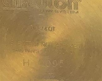 #163Circulon Steamer w/pot & Lid $25.00