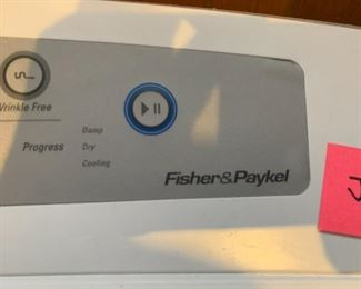 #181Fisher Paykal Washer & Dryer Set $400.00