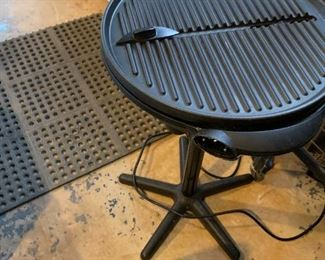 #184George Forman electric grill  $20.00
