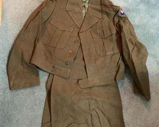#19740R Short Jacket and Pants - Army Air $30.00